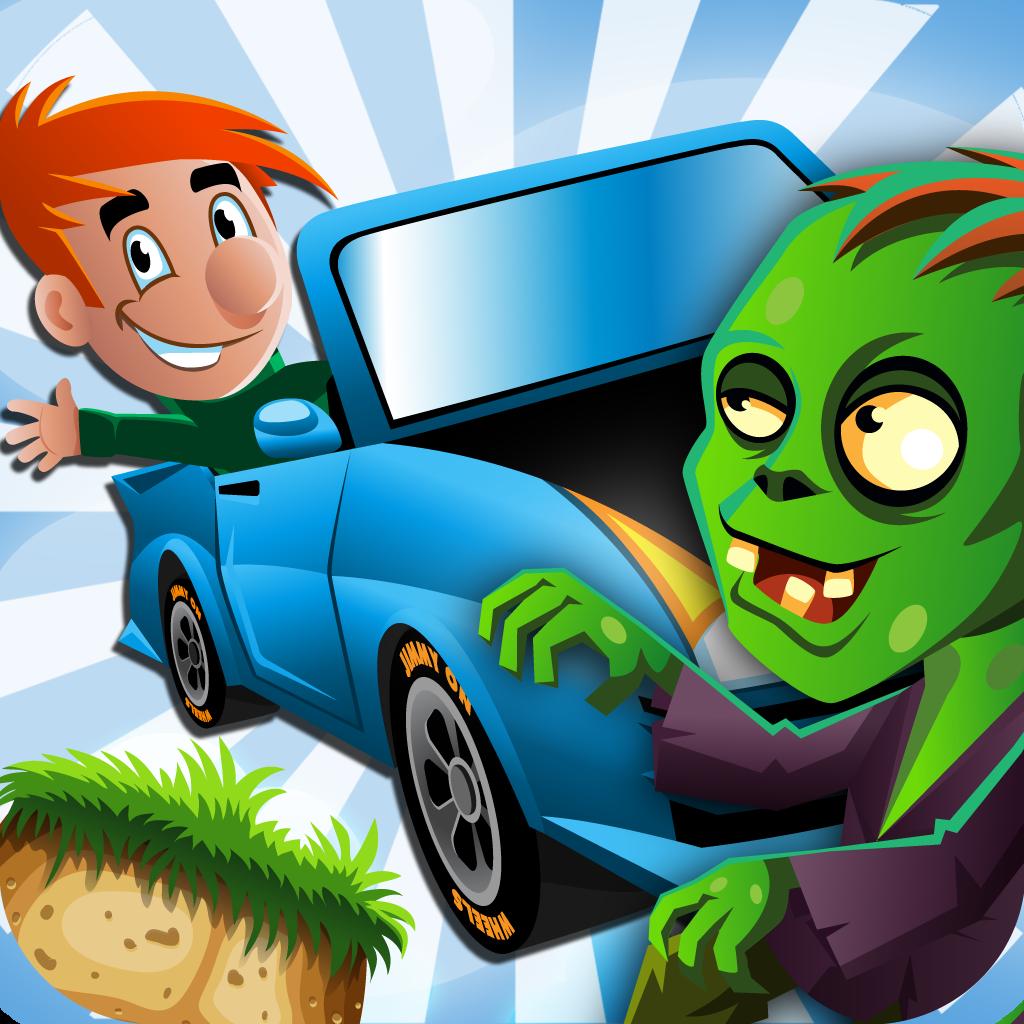 A Zombie Road Climb: Temple Car Racing Free